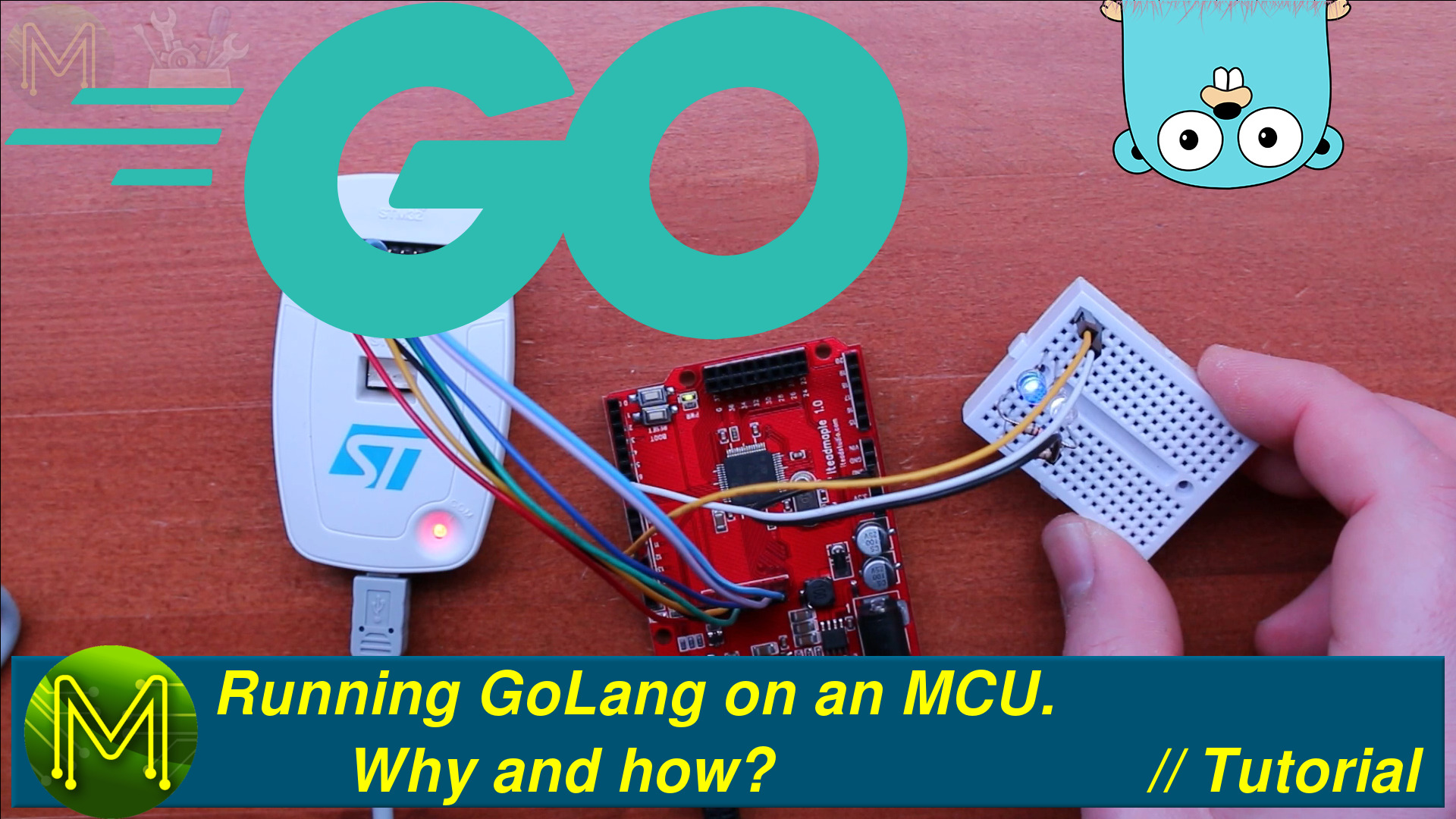 Running GoLang on an STM32 MCU  A quick tutorial  - MickMake